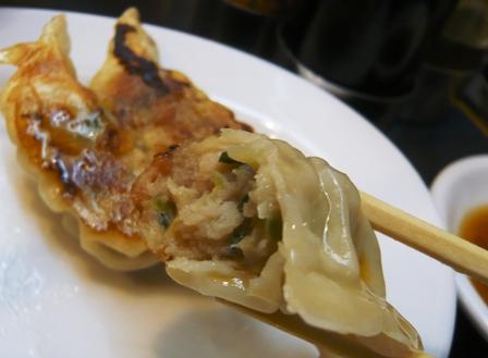 三河開化亭:黒豚餃子2