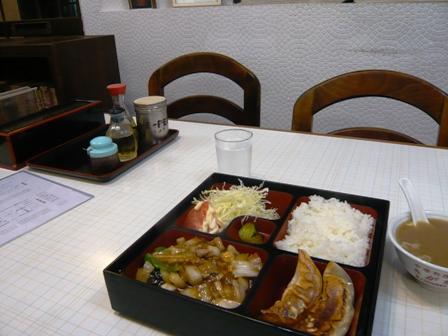 きがわ:八宝菜定食1