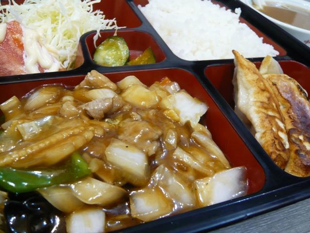 きがわ:八宝菜定食2