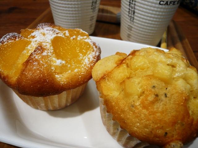 CAFE BRICCO:カップケーキ
