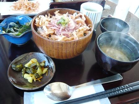 海の庭:赤富士丼1
