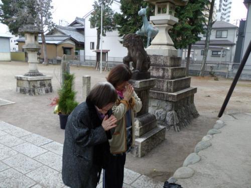 神社参拝4