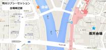 鴨川ジプシーセッション地図