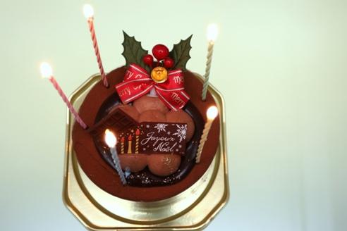 クリスマスケーキ201502
