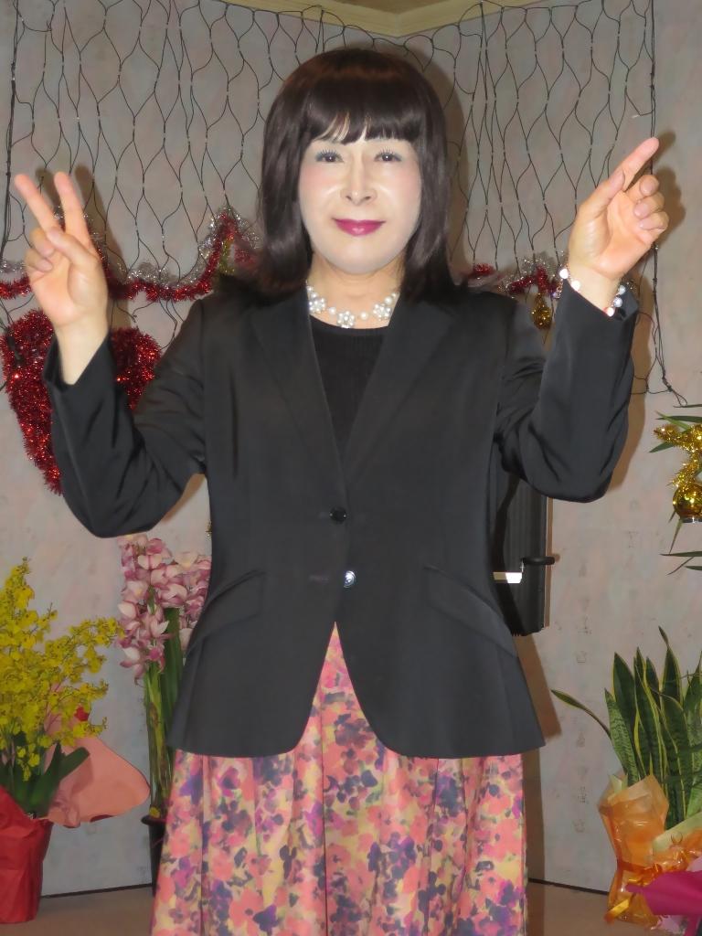 カラオケ黒ジャケット(7)