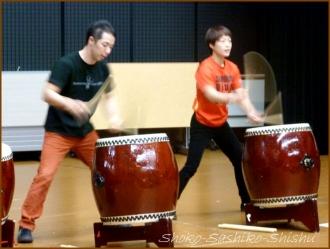 20160131  デモ  1 和太鼓