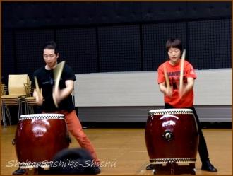 20160131  デモ  3 和太鼓