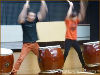 20160131  デモ  4 和太鼓