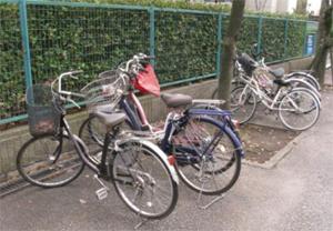 放置自転車2