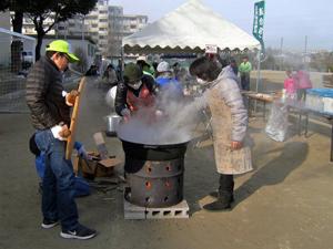 豚汁準備5