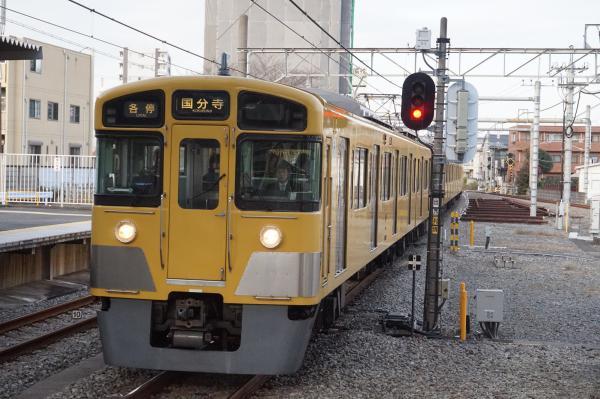 2015-12-12 西武2049F 各停国分寺行き 5712レ