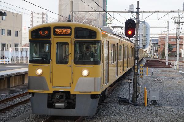 2015-12-12 西武2061F 各停西武新宿行き1 5830レ