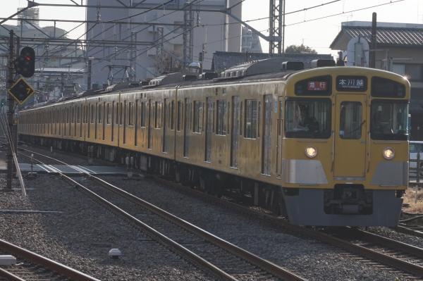 2015-12-12 西武2083F 急行本川越行き 2657レ