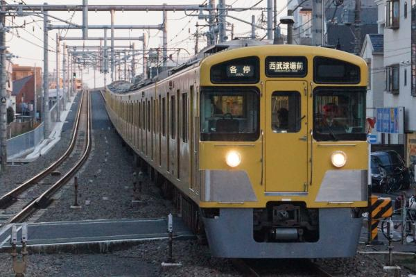 2015-12-12 西武2503F+2501F 各停西武球場前行き 5361レ