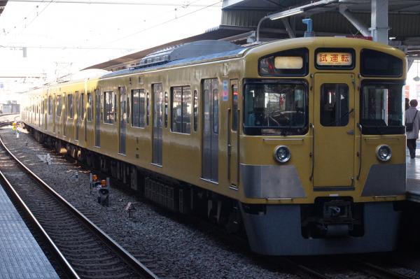 2015-12-12 西武2515F 試運転2