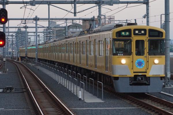 2015-12-12 西武9104F 準急飯能行き 4143レ