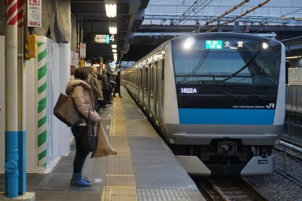 2015-12-18 京浜東北線E233系サイ106編成 各駅停車大宮行き