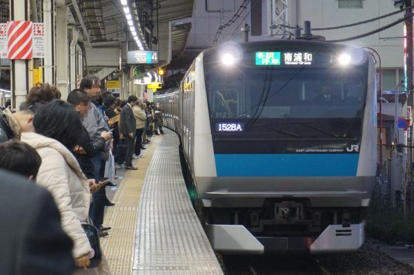 2015-12-18 京浜東北線E233系サイ112編成 各駅停車南浦和行き