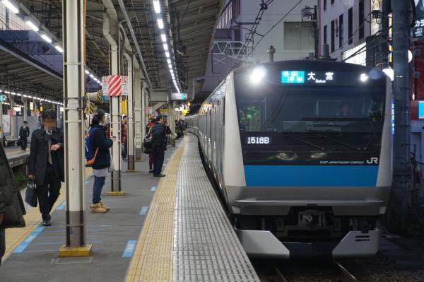 2015-12-18 京浜東北線E233系サイ127編成 各駅停車大宮行き1