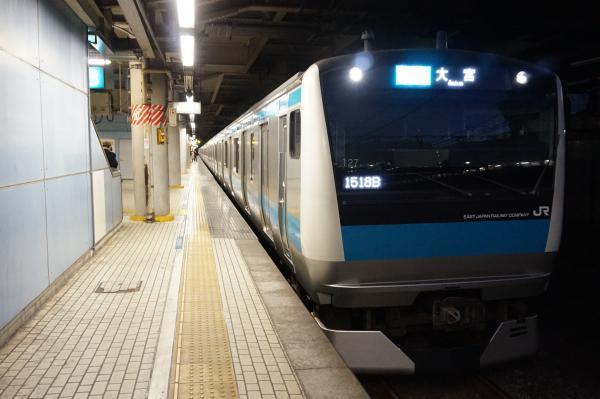 2015-12-18 京浜東北線E233系サイ127編成 各駅停車大宮行き2