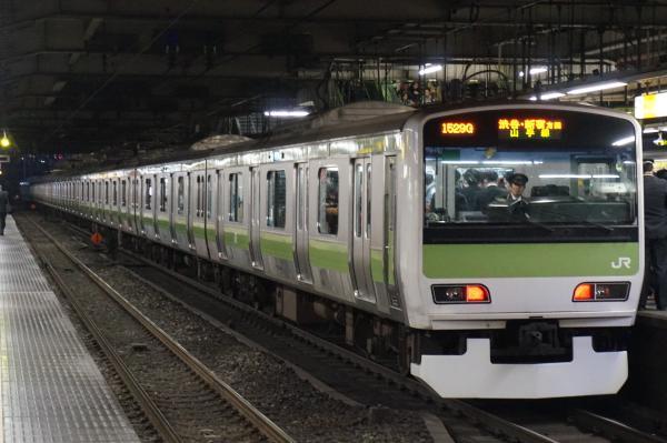 2015-12-18 山手線E231系トウ541編成 渋谷・新宿方面行き