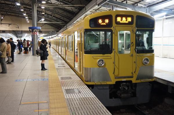 2015-12-18 西武2097F 各停豊島園行き 5513レ