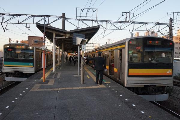 2015-12-18 南武線205系 ナハ46編成 浜4編成 1