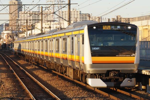 2015-12-18 南武線E233系ナハN6編成 各駅停車川崎行き
