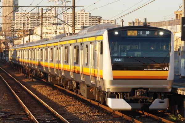 2015-12-18 南武線E233系ナハN30編成 各駅停車川崎行き