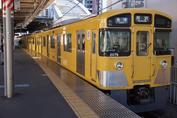 2015-12-19 西武2079F 各停所沢行き3 5305レ