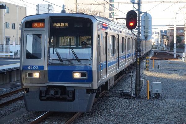 2015-12-19 西武6102F 急行西武新宿行き 2680レ