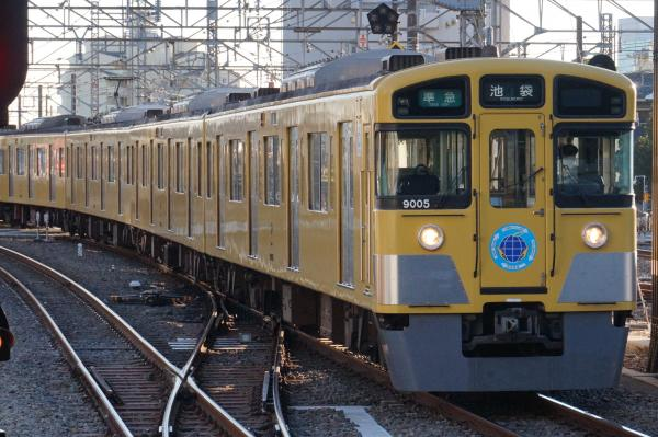 2015-12-19 西武9105F 準急池袋行き 4134レ