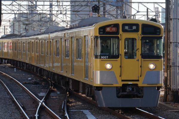 2015-12-19 西武9107F 急行池袋行き 2152レ