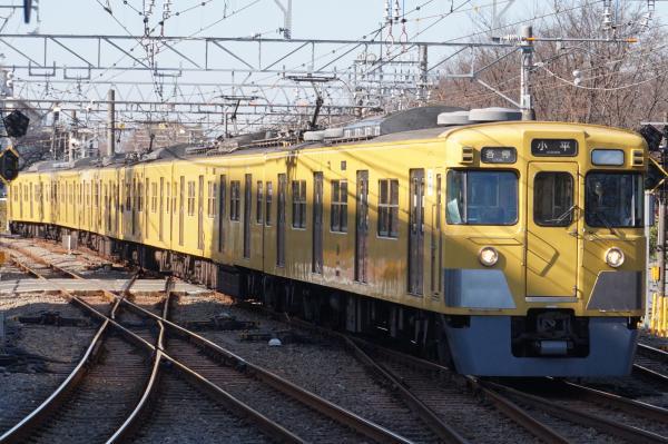 2015-12-20 西武2011F 各停小平行き 5460レ