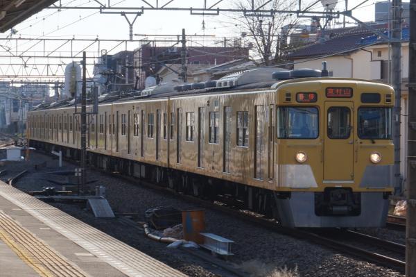 2015-12-20 西武2019F 各停東村山行き 6677レ