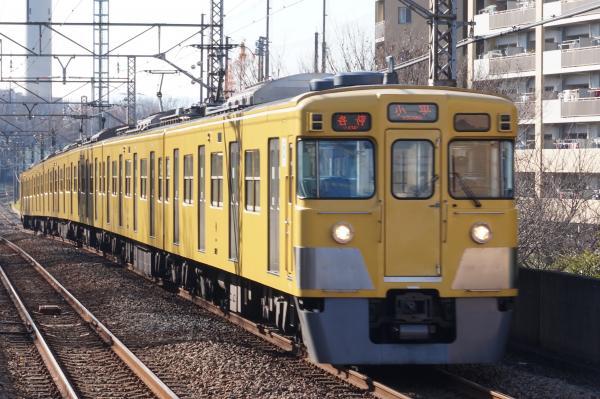 2015-12-20 西武2027F 各停小平行き 5464レ