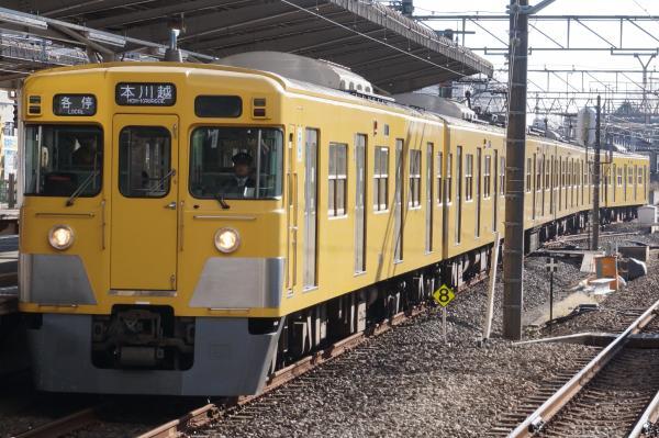 2015-12-20 西武2033F 各停本川越行き 5709レ
