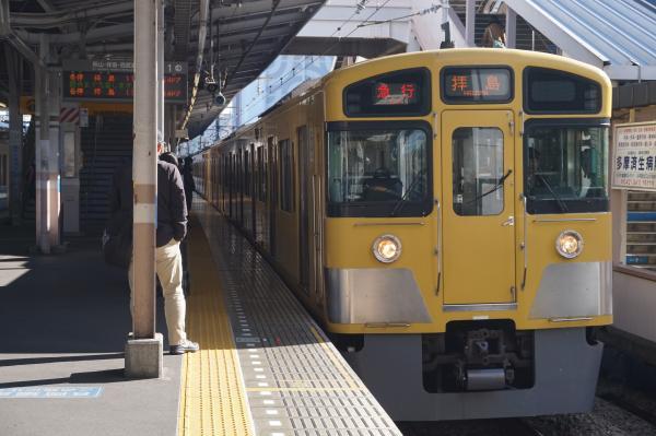2015-12-20 西武2061F 急行拝島行き 2319レ