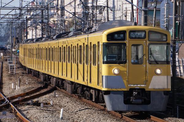 2015-12-20 西武2095F 各停西武新宿行き 5606レ
