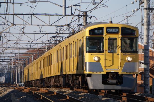 2015-12-20 西武2095F 各停西武新宿行き 5624レ