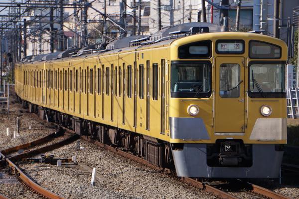 2015-12-20 西武2523F+2535F 回送
