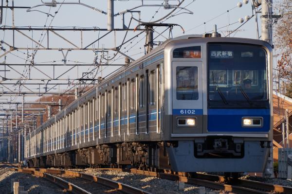 2015-12-20 西武6102F 急行西武新宿行き 2678レ