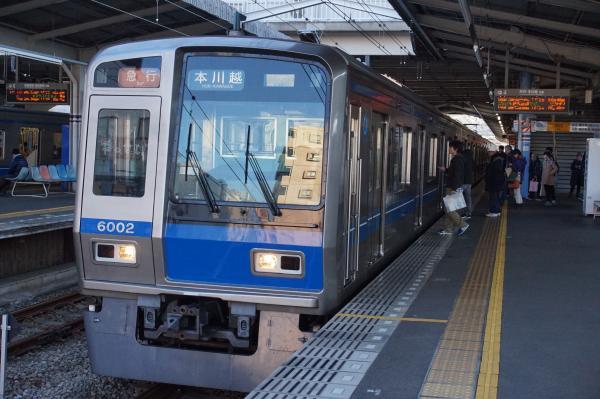 2015-12-20 西武6102F 急行本川越行き 2659レ