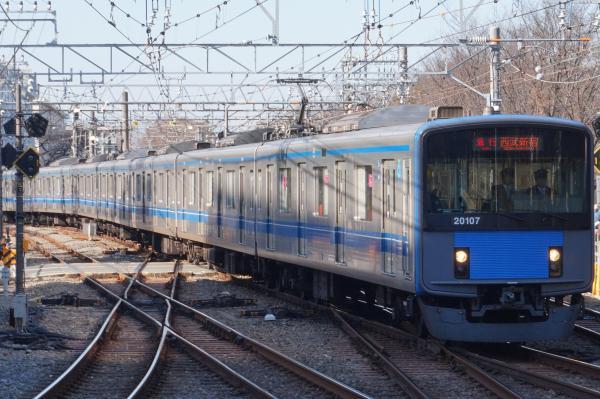 2015-12-20 西武20107F 急行西武新宿行き 2328レ