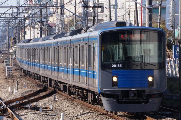 2015-12-20 西武20155F 急行西武新宿行き 2322レ