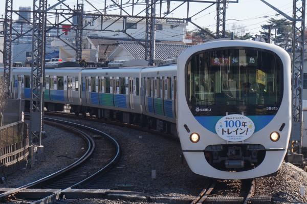 2015-12-20 西武38115F 急行拝島行き 2321レ