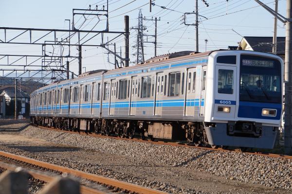 2015-12-22 西武6105F 快速急行元町・中華街行き 1710レ