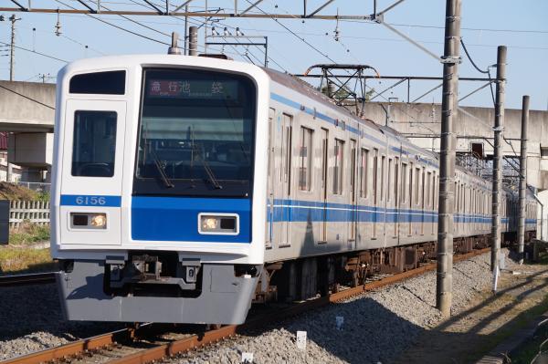 2015-12-22 西武6156F 急行池袋行き 2145レ