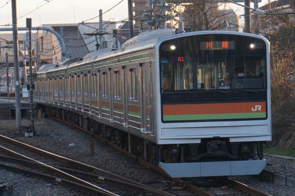 2015-12-22 八高線205系ハエ83編成 川越行き