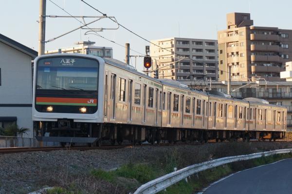 2015-12-22 八高線209系ハエ62編成 八王子行き